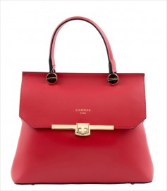 LEATHER HANDBAG BORSAMANO_0004_RO COLOR: RED
